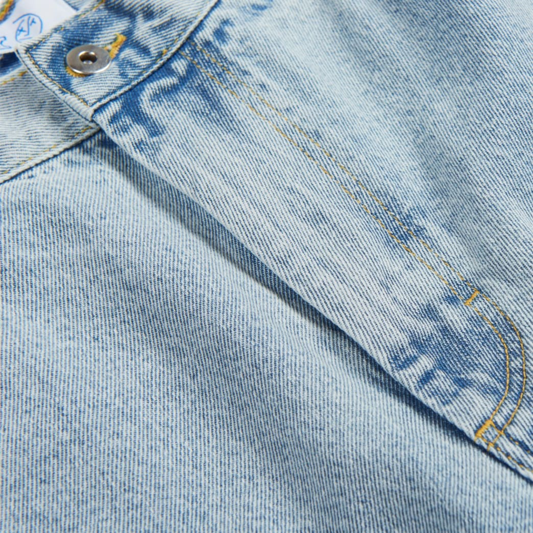 Polar Big Boy Jeans - Light Blue | Jeans by Polar Skate Co 4