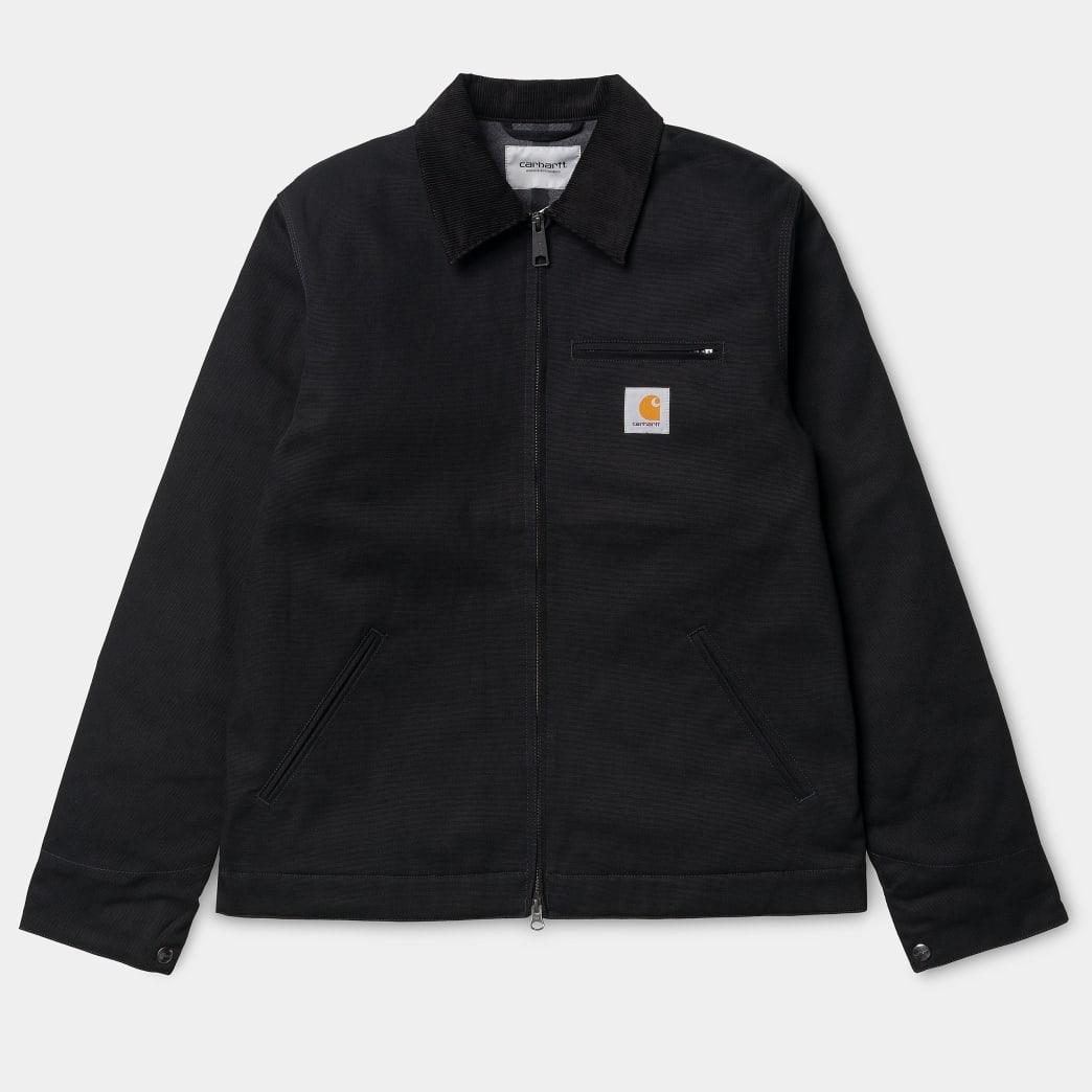 Carhartt WIP - Detroit jacket black rigid | Jacket by Carhartt WIP 1