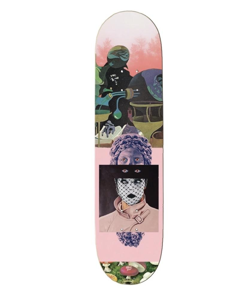 The Killing Floor Skateboards Your Silent Face Deck 8.3 | Deck by The Killing Floor 1