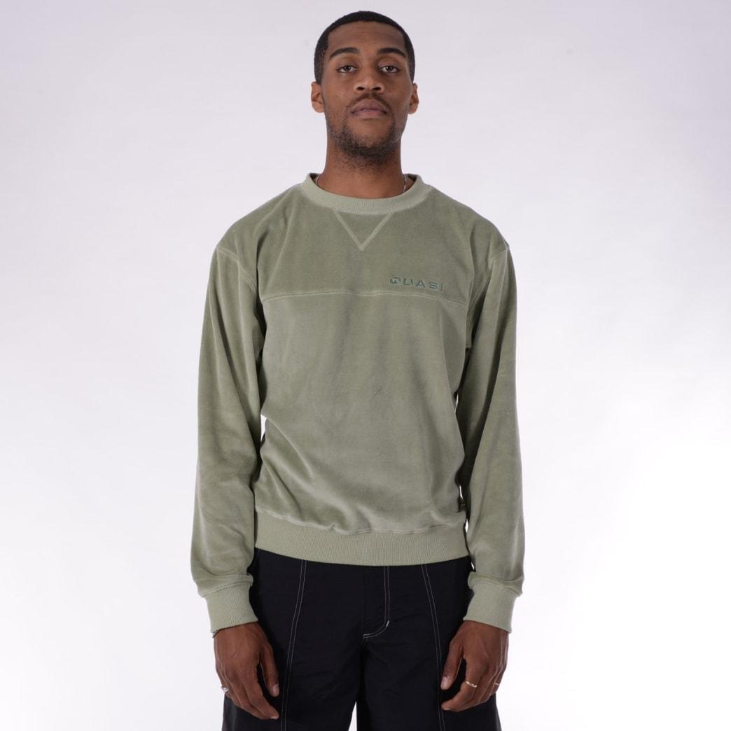 Quasi Richie Crew Sweat - Sage | Sweatshirt by Quasi Skateboards 2