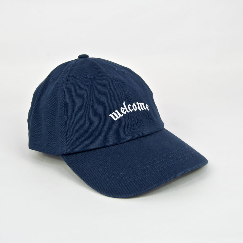 Welcome Skate Store - Fiver Cap - Navy | Baseball Cap by Welcome Skate Store 1
