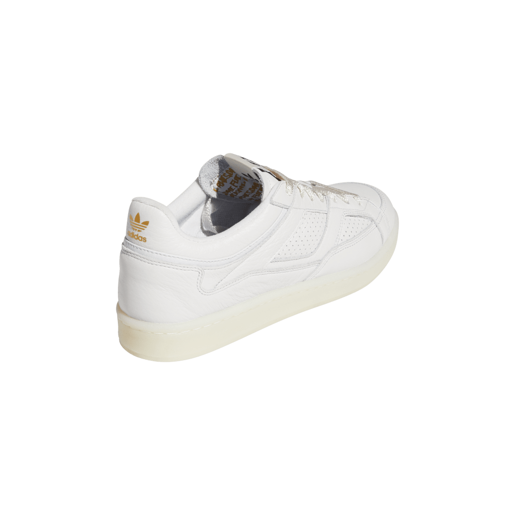 adidas Skateboarding FA Experiment 2 Shoes - Crystal White / Chalk White / Gold Metallic | Shoes by adidas Skateboarding 6