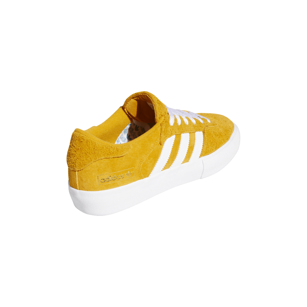 adidas Matchbreak Super Skate Shoes - Tactile Yellow / FTWR White / Gold Met | Shoes by adidas Skateboarding 6