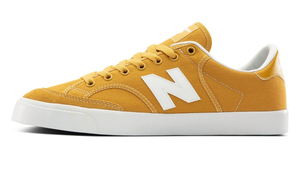 New Balance Numeric 212 Skate Shoes - Yellow / White | Shoes by New Balance 2