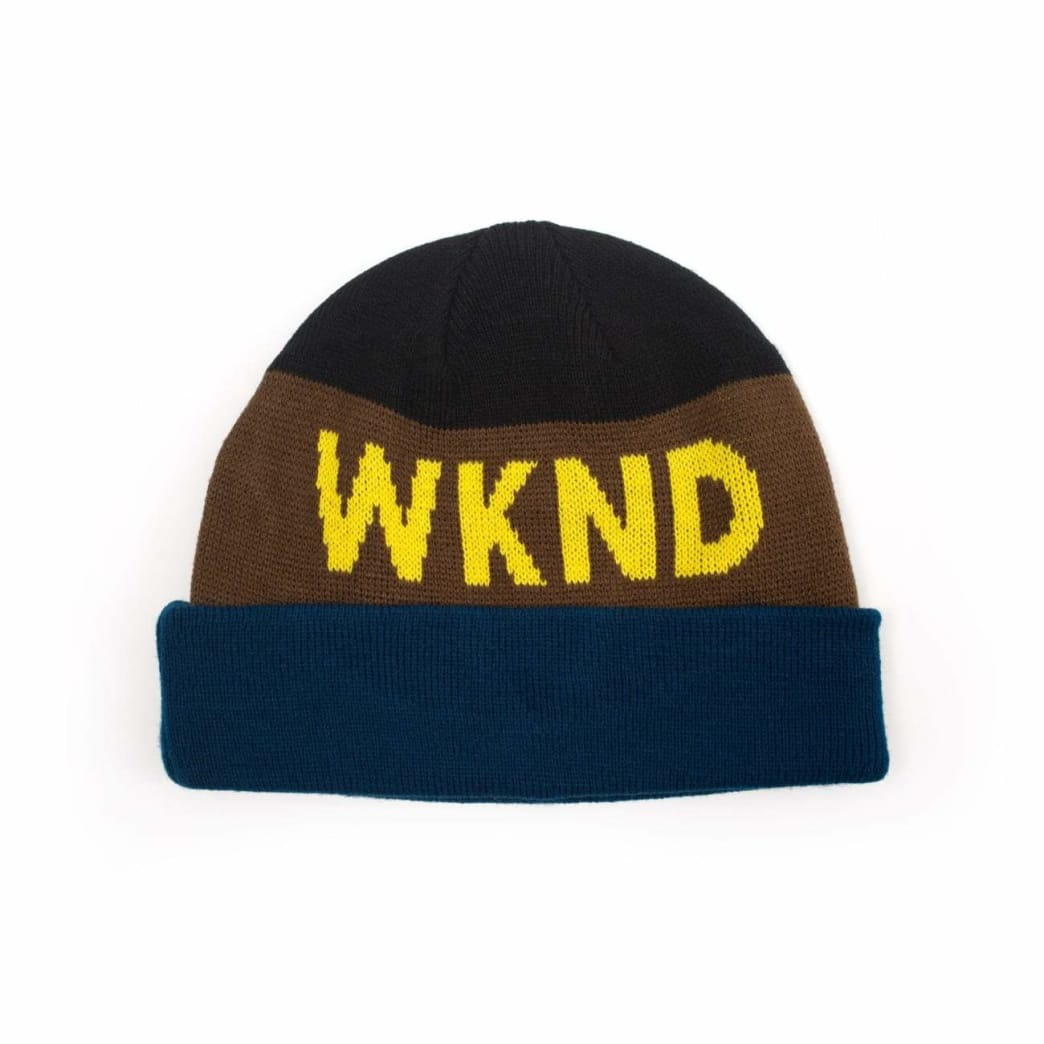 WKND Collision Watchcap Beanie - Black | Beanie by WKND 1