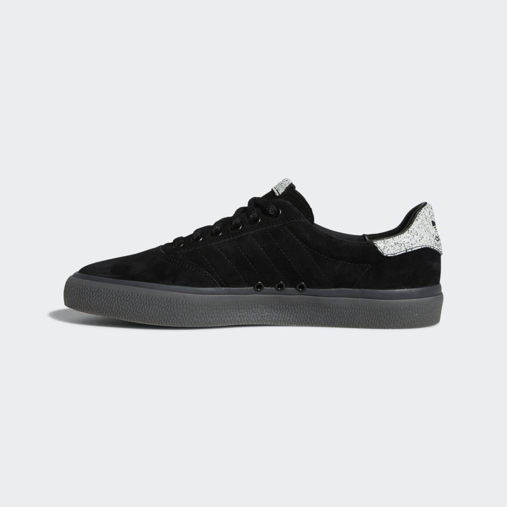 Adidas 3MC Vulc Shoes - Core Black/FTWR White/Solid Grey | Shoes by adidas Skateboarding 6