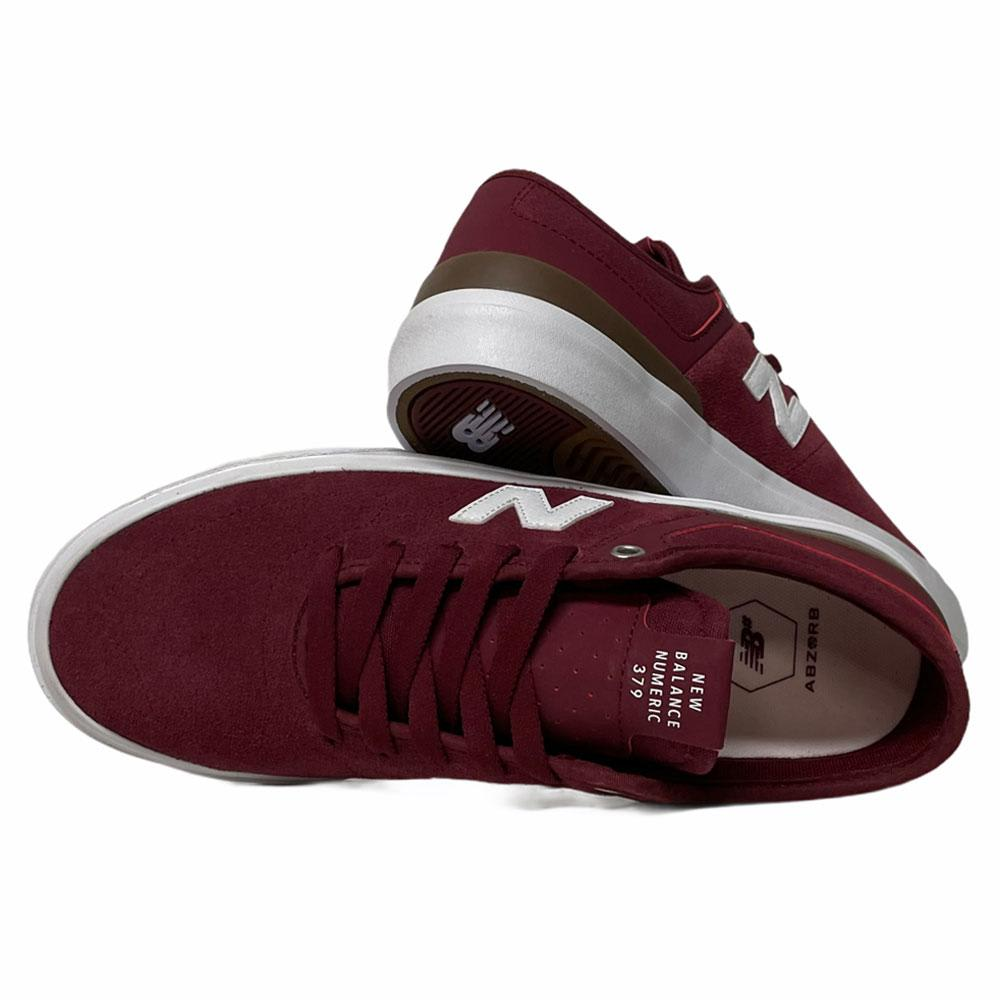 New Balance NM379BUG Burgundy | Shoes by New Balance 3