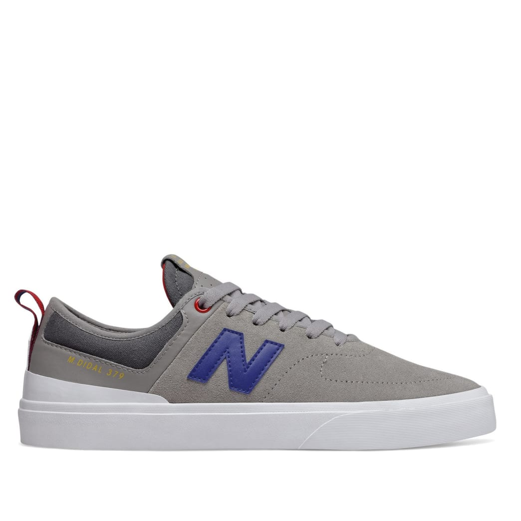 New Balance Numeric 379 Skate Shoe - Grey / Red / Blue   Shoes by New Balance 1