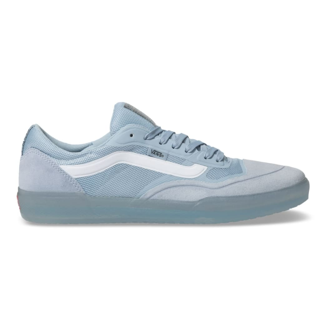 Vans AVE Pro Skateboard Shoes - Blue Fog/White | Shoes by Vans 1