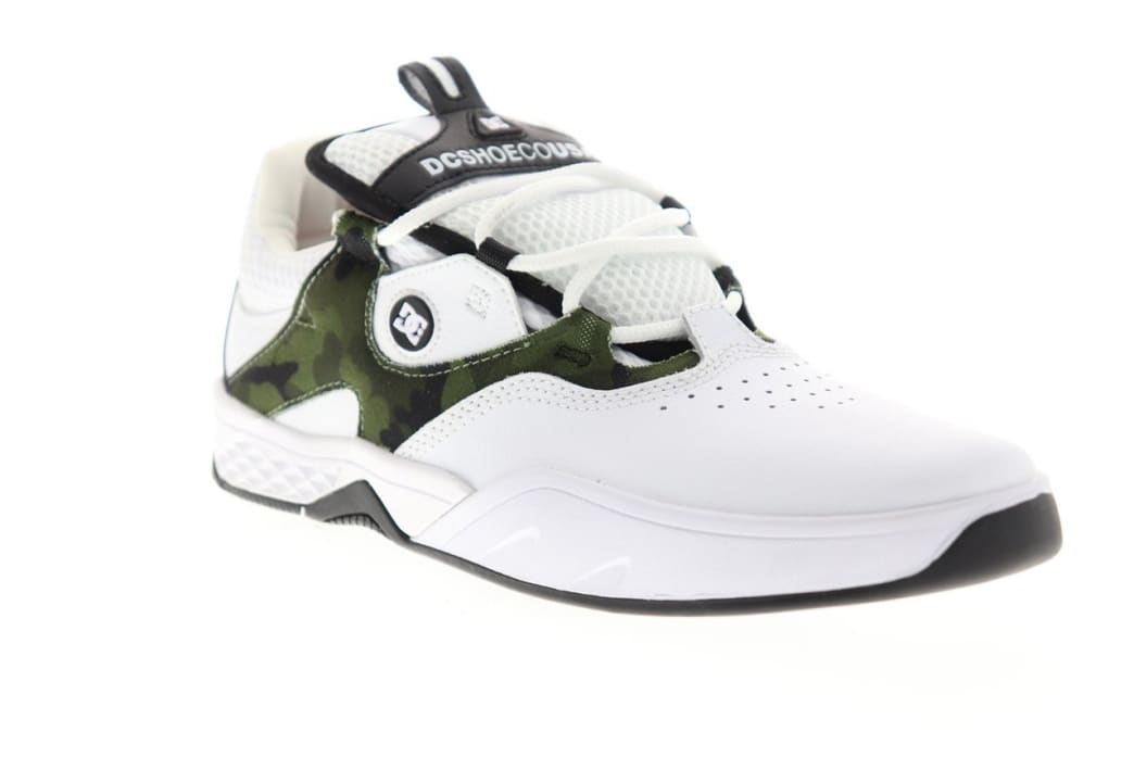 DC Shoes Kalis S Skate White/Camo | Shoes by DC Shoes 2