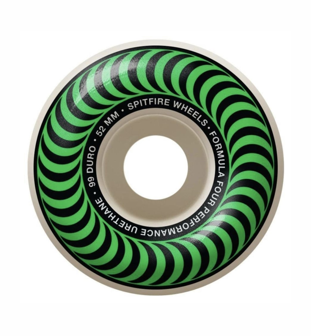 Spitfire - F4 99 Classic Green 52 | Wheels by Spitfire Wheels 1