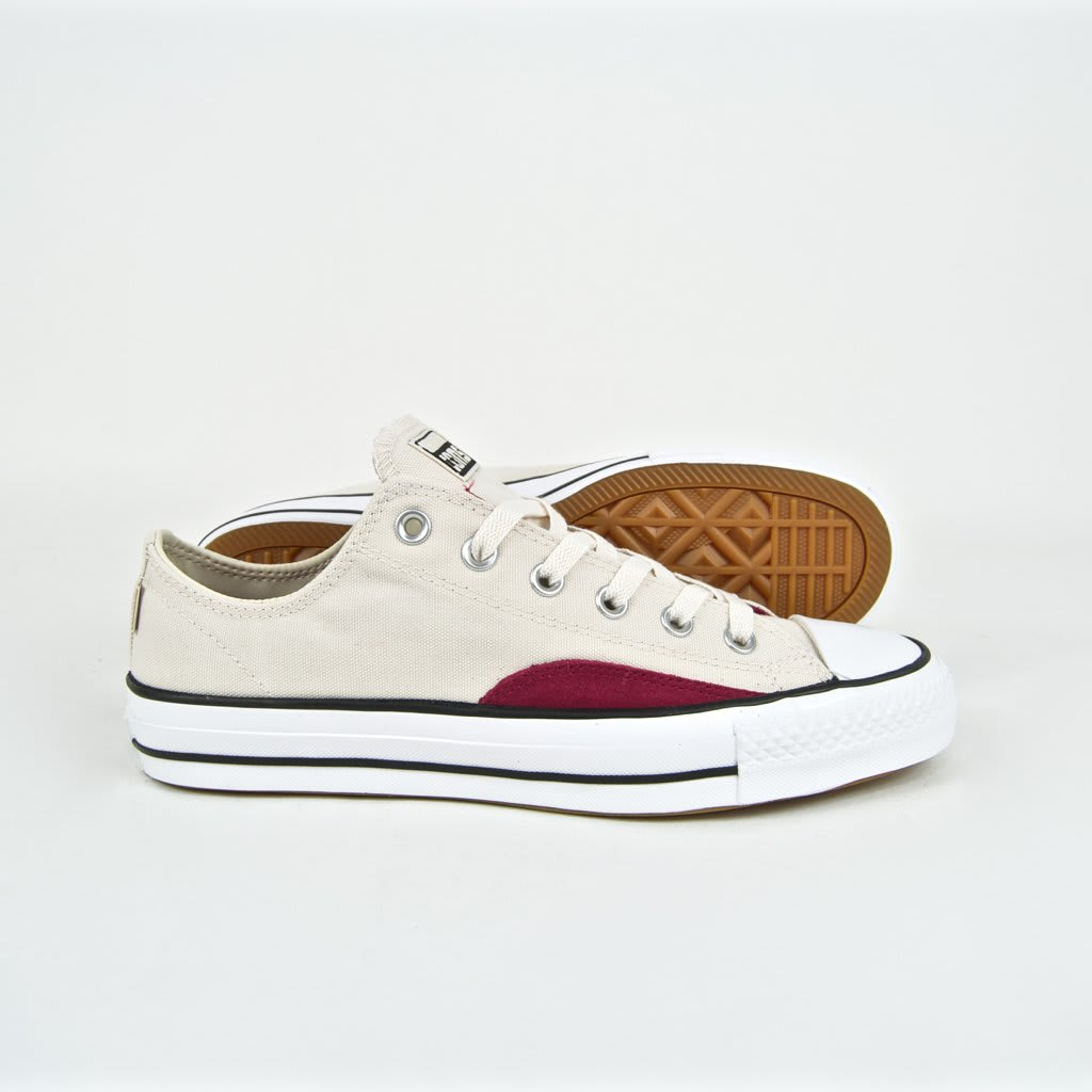 Converse Cons - CTAS Pro OP OX Shoes - Natural Ivory / Black / White | Shoes by Converse Cons 2