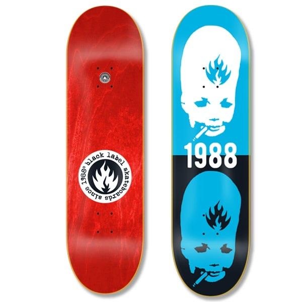 Black Label Skateboards- Thumbhead Deck 8.5"
