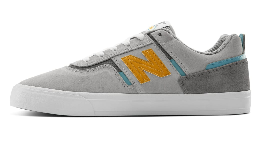 New Balance Numeric 306 Skate Shoe - Grey / Yellow | Shoes by New Balance 2
