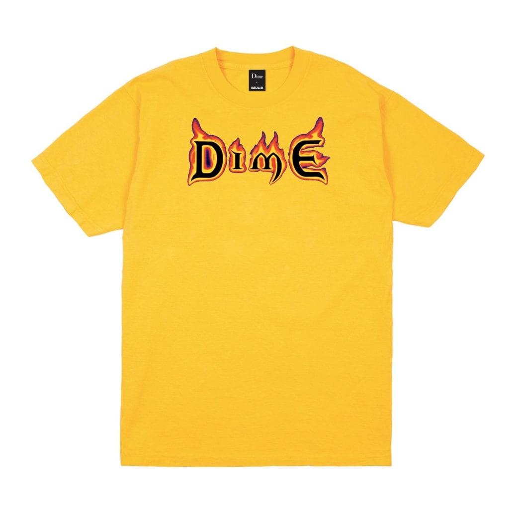 Dime Mana T-Shirt - Gold   T-Shirt by Dime MTL 1