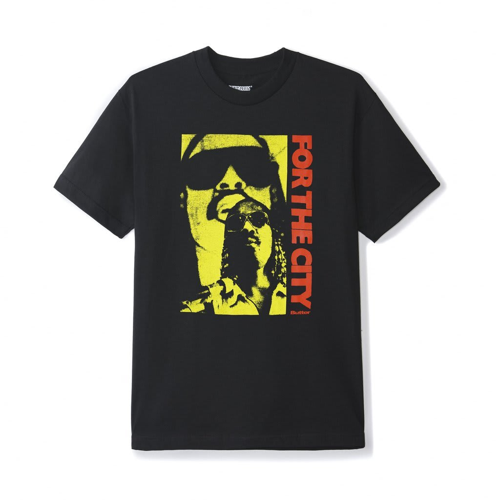 Butter Goods FTC For The City T-Shirt - Black | T-Shirt by Butter Goods 1