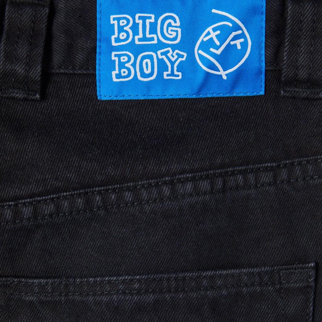 Polar Skate Co Big Boy Jeans - Pitch Black   Jeans by Polar Skate Co 4