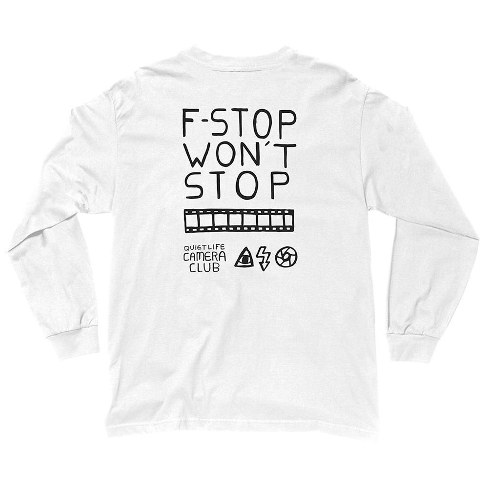 The Quiet Life F-Stop Long Sleeve Tee - White | T-Shirt by The Quiet Life 1