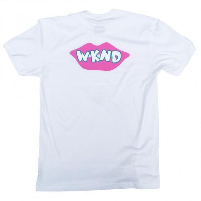 WKND Lips Are Sealed T-Shirt - White | T-Shirt by WKND 1