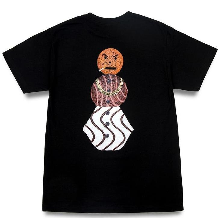 Quartersnacks Snackman T-Shirt - Black | T-Shirt by Quartersnacks 1