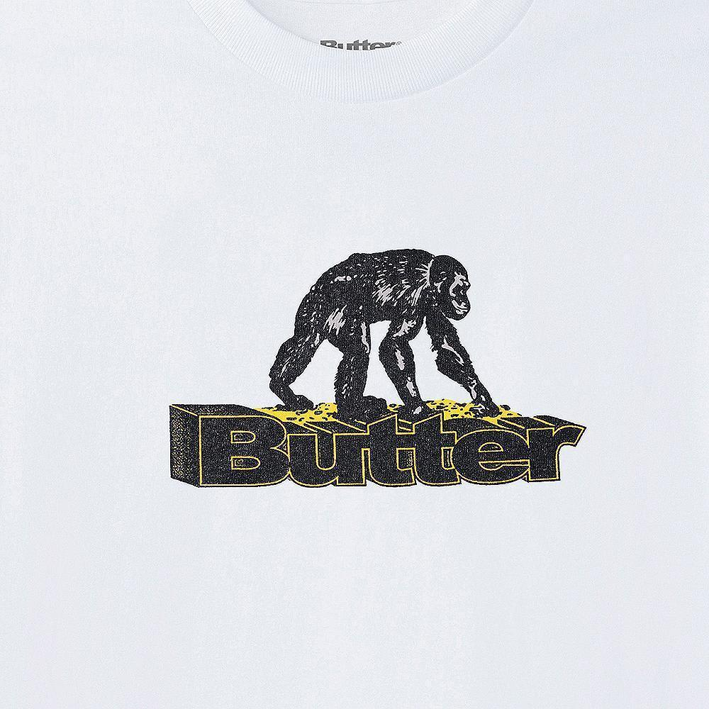 Butter Goods Primate T-Shirt - White | T-Shirt by Butter Goods 2