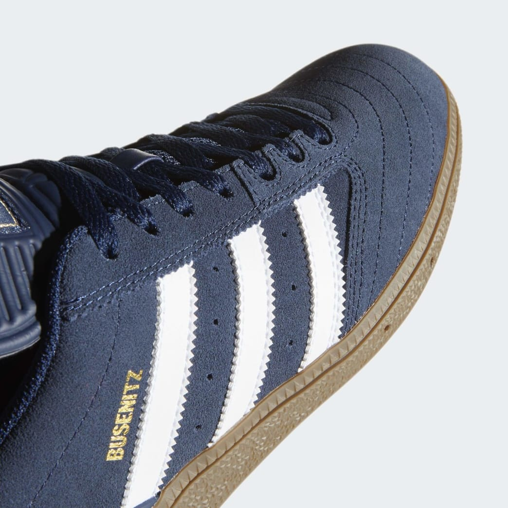 Adidas Busenitz Shoes - Collegiate Navy/Cloud White/Gum 5 | Shoes by adidas Skateboarding 8