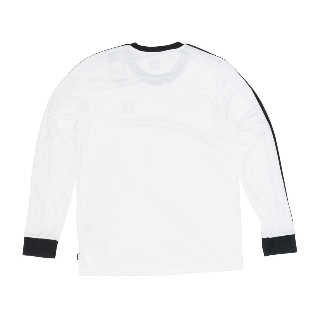 reputable site 37c7e a9162 Adidas Club Jersey Longsleeve T-Shirt - White Black   Longsleeve by adidas  Skateboarding