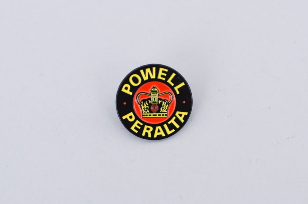 Powell Peralta Supreme Lapel Pin Badge | Pin Badge by Powell Peralta 1