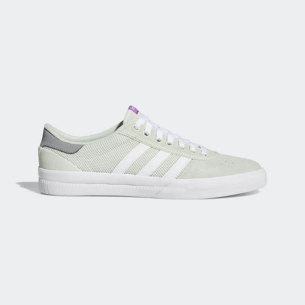 Adidas Lucas Premiere Shoes - Linen Green/Footwear White/Grey 3 | Shoes by adidas Skateboarding 1