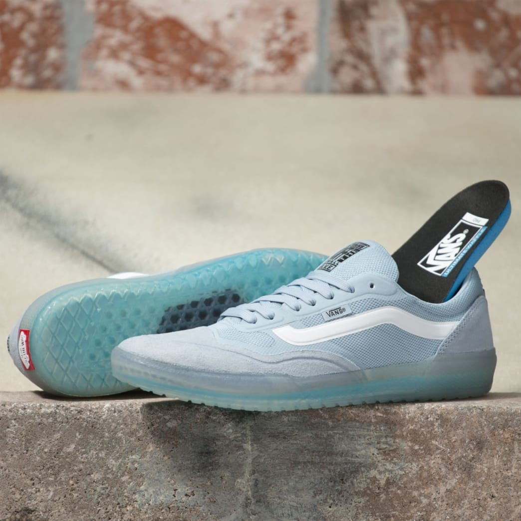 Vans AVE Pro Skateboard Shoes - Blue Fog/White | Shoes by Vans 2