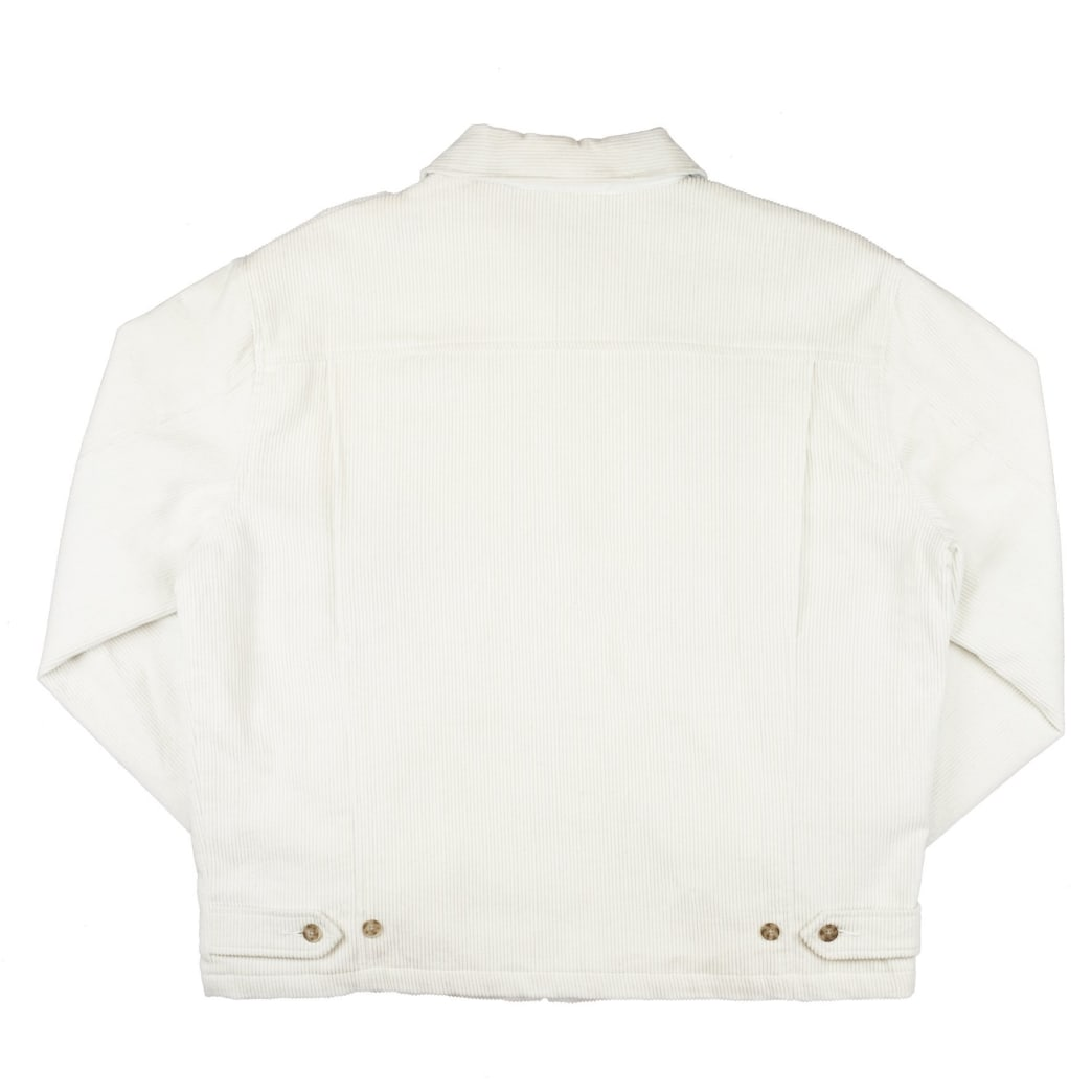 Yardsale YS Spider Corduroy Jacket - White | Jacket by Yardsale 4