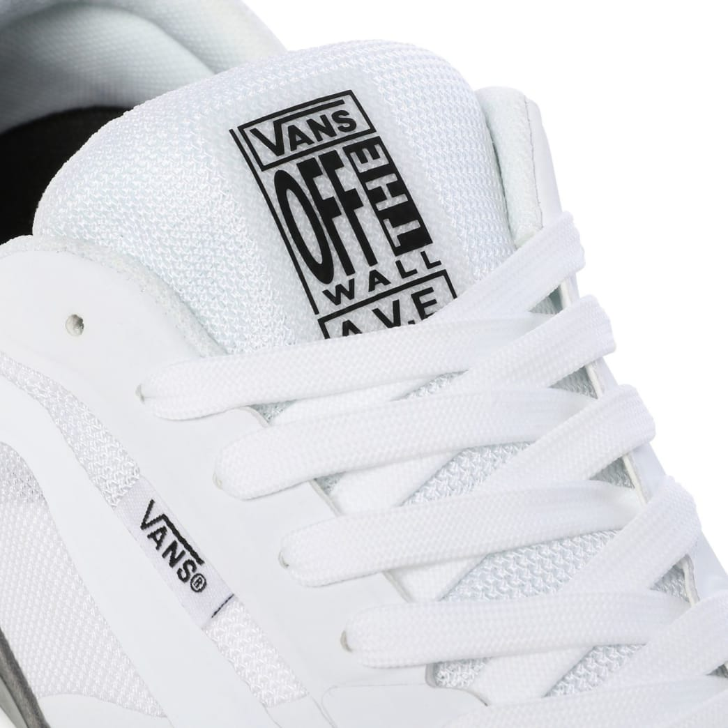 Vans AVE Pro Skate Shoes - White / Smoke | Shoes by Vans 7