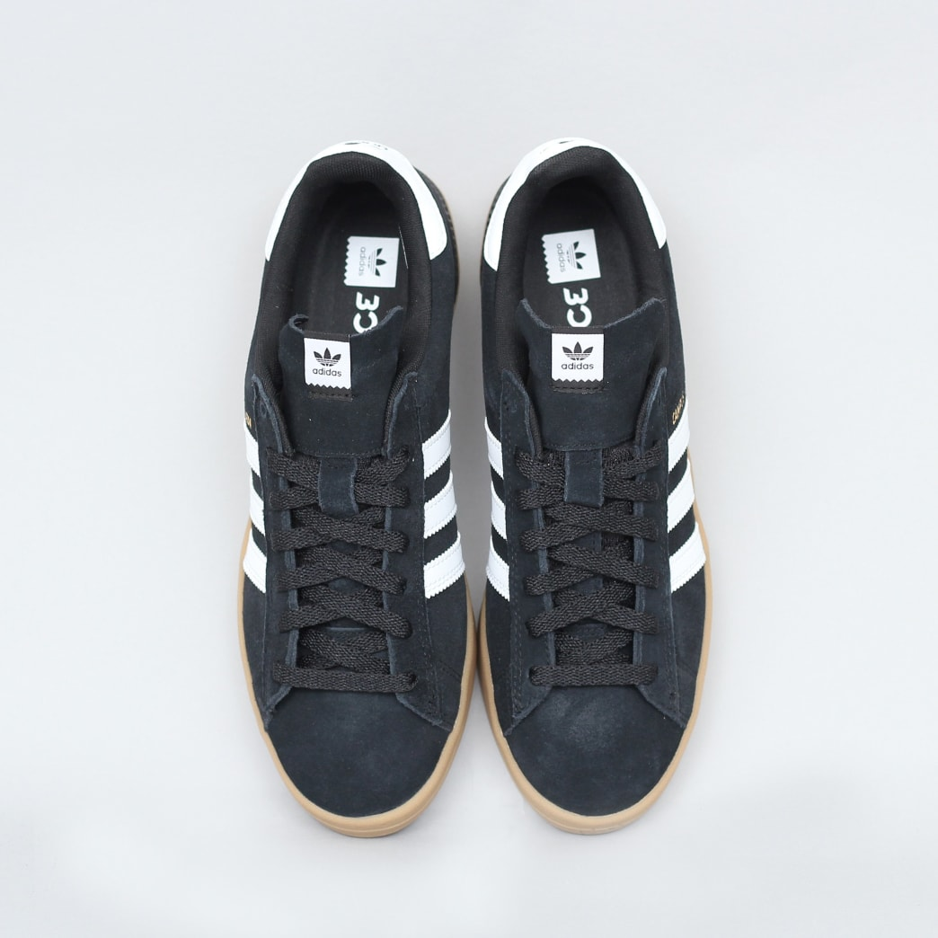adidas Campus Advance Shoes Core Black / Footwear White / Gum 4 | Shoes by adidas Skateboarding 5