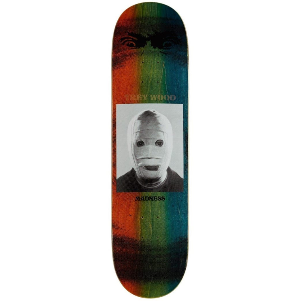 """Madness Trey Bandage R7 Deck 8.25""""   Deck by Madness Skateboards 1"""