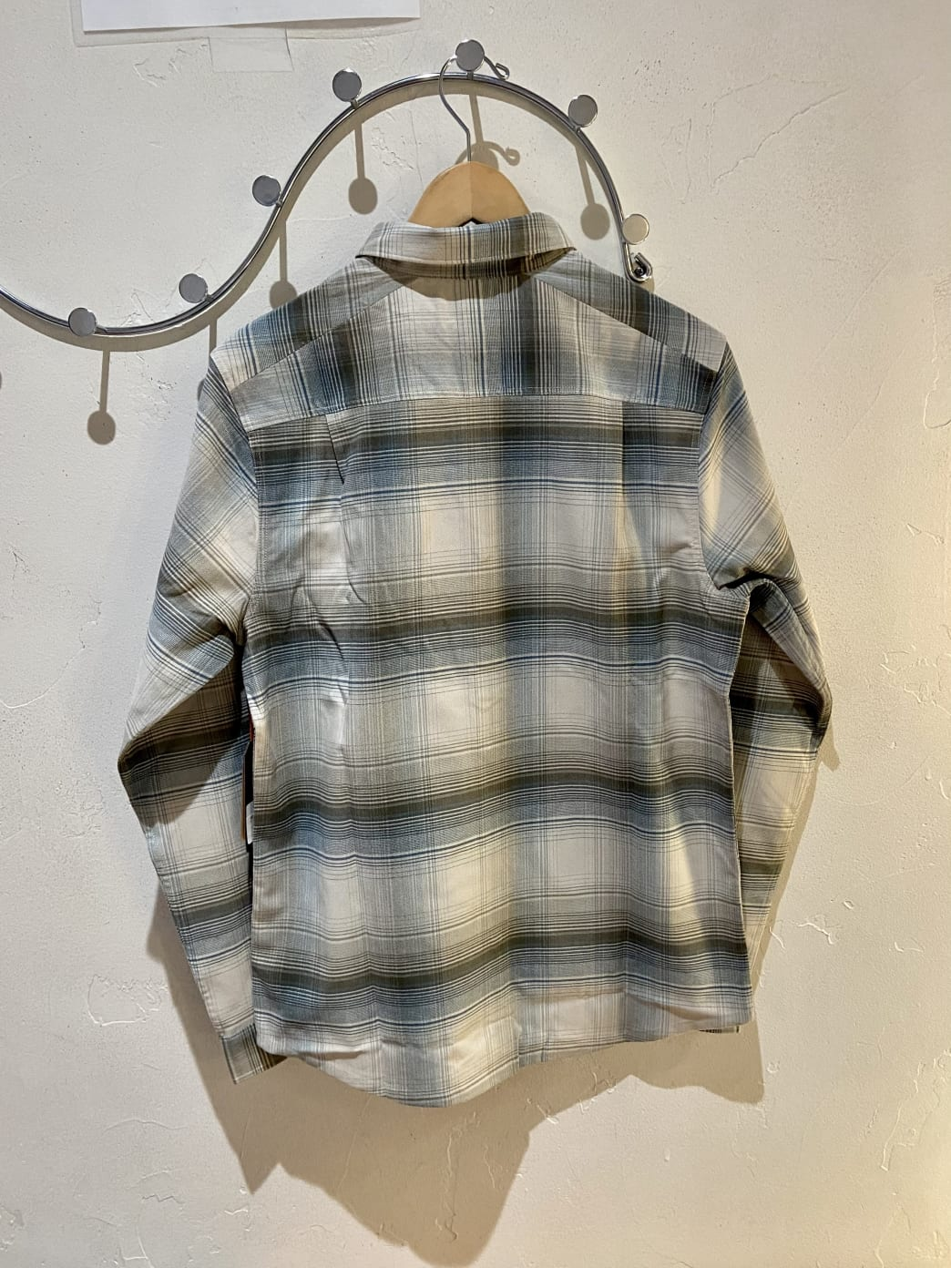 Roark Alpinist Long Sleeve Flannel Shirt - Bone | Shirt by Bad Image 2