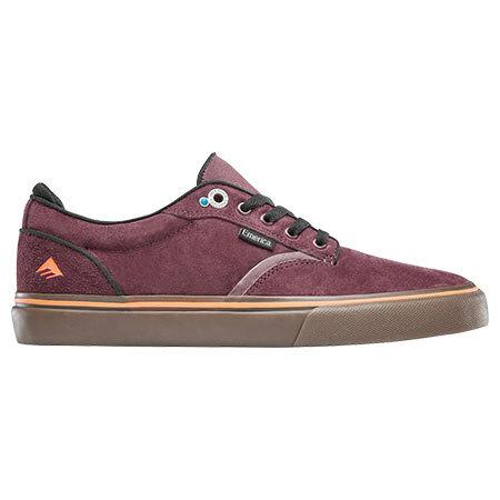 Emerica Dickson Pro Maroon/Gum | Shoes by Emerica 1