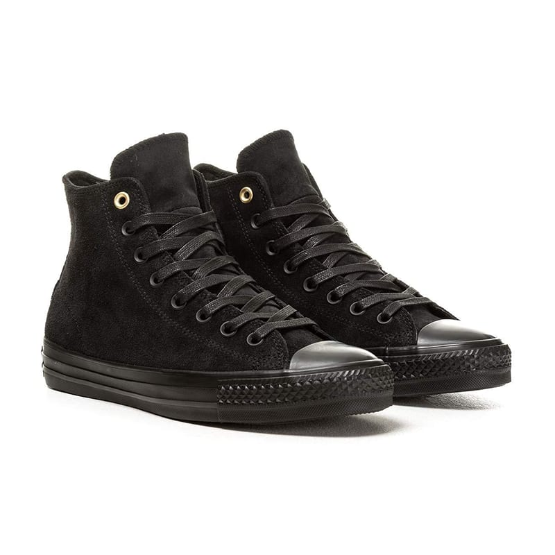 Converse - CTAS Pro Hi Suede - Black / Black | Shoes by Converse Cons 1