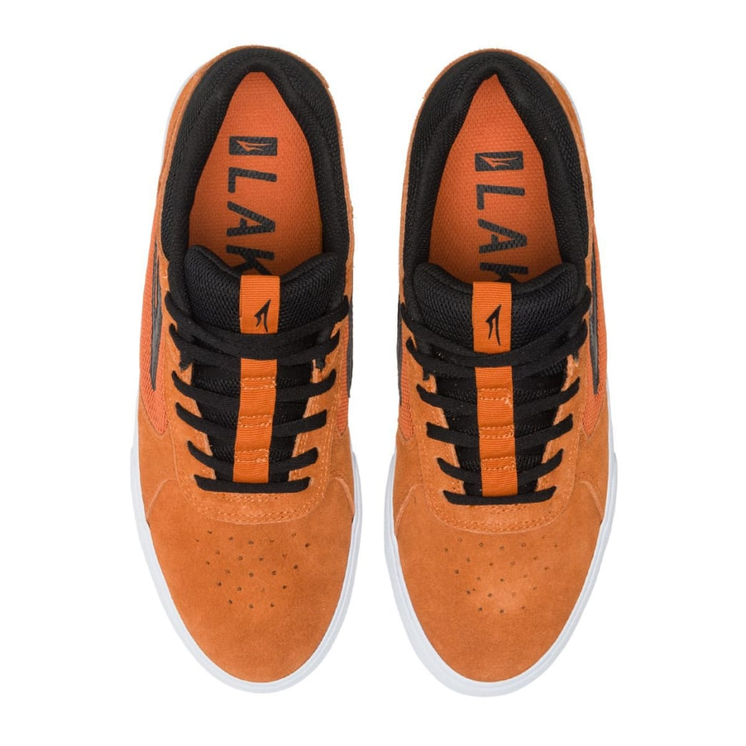 Lakai Proto Vulc Skate Shoes - Burnt Orange | Shoes by Lakai 3