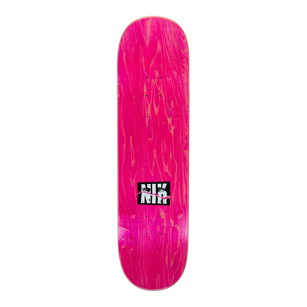 Hockey Side Two Nik Stain Skateboard Deck - 8.25"