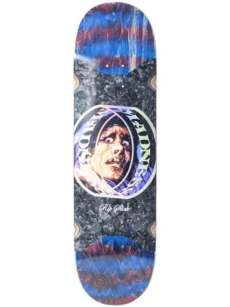 Madness Prism Ring Popsicle Red Swirl Rip Stick | Deck by Madness Skateboards 1
