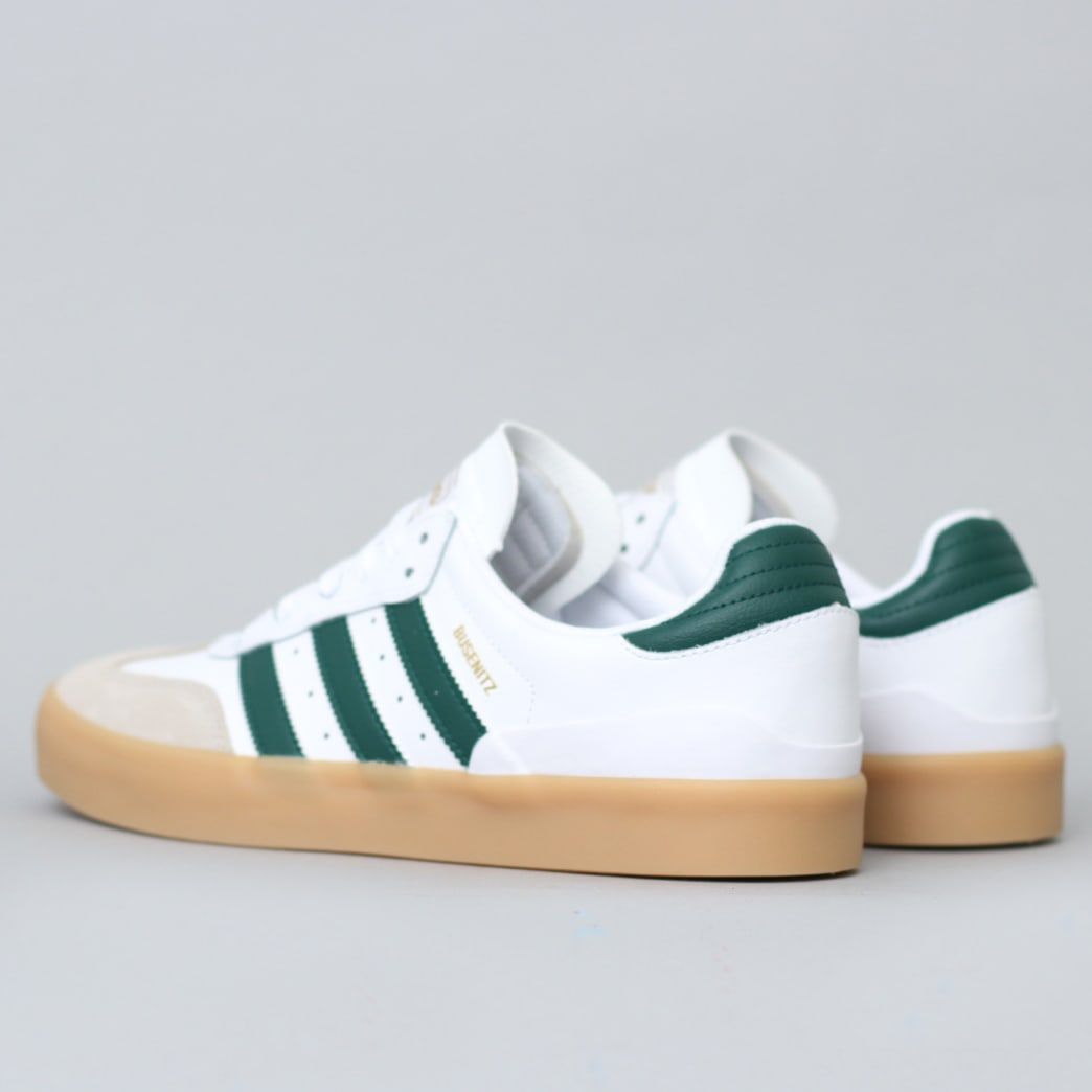 adidas Busenitz Vulc RX Shoes FTWR White / Collegiate Green / Gum3 | Shoes by adidas Skateboarding 4