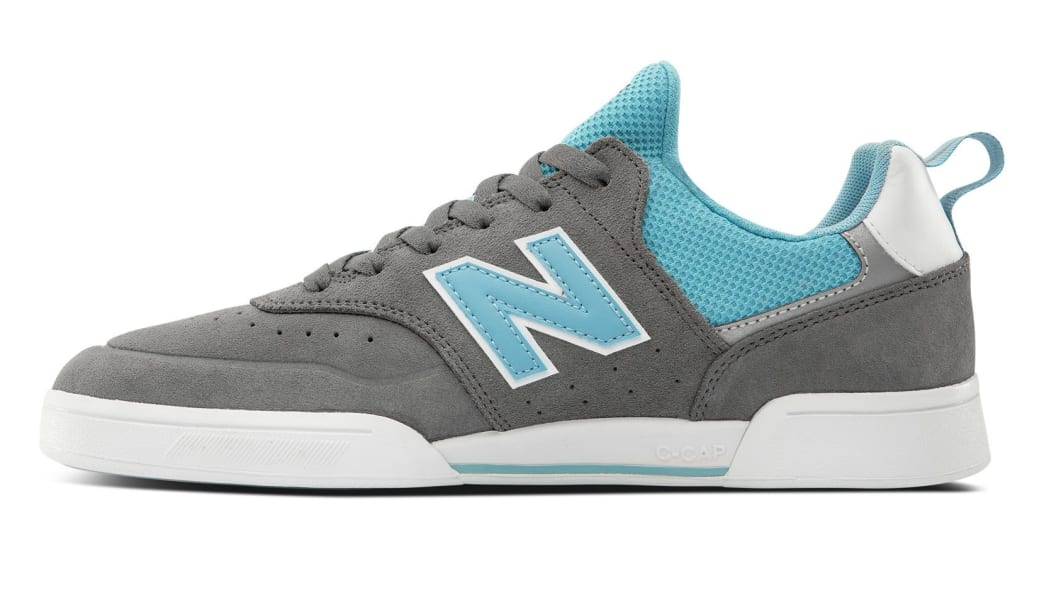 New Balance Numeric 288 Sport Skate Shoe - Grey / Blue   Shoes by New Balance 2