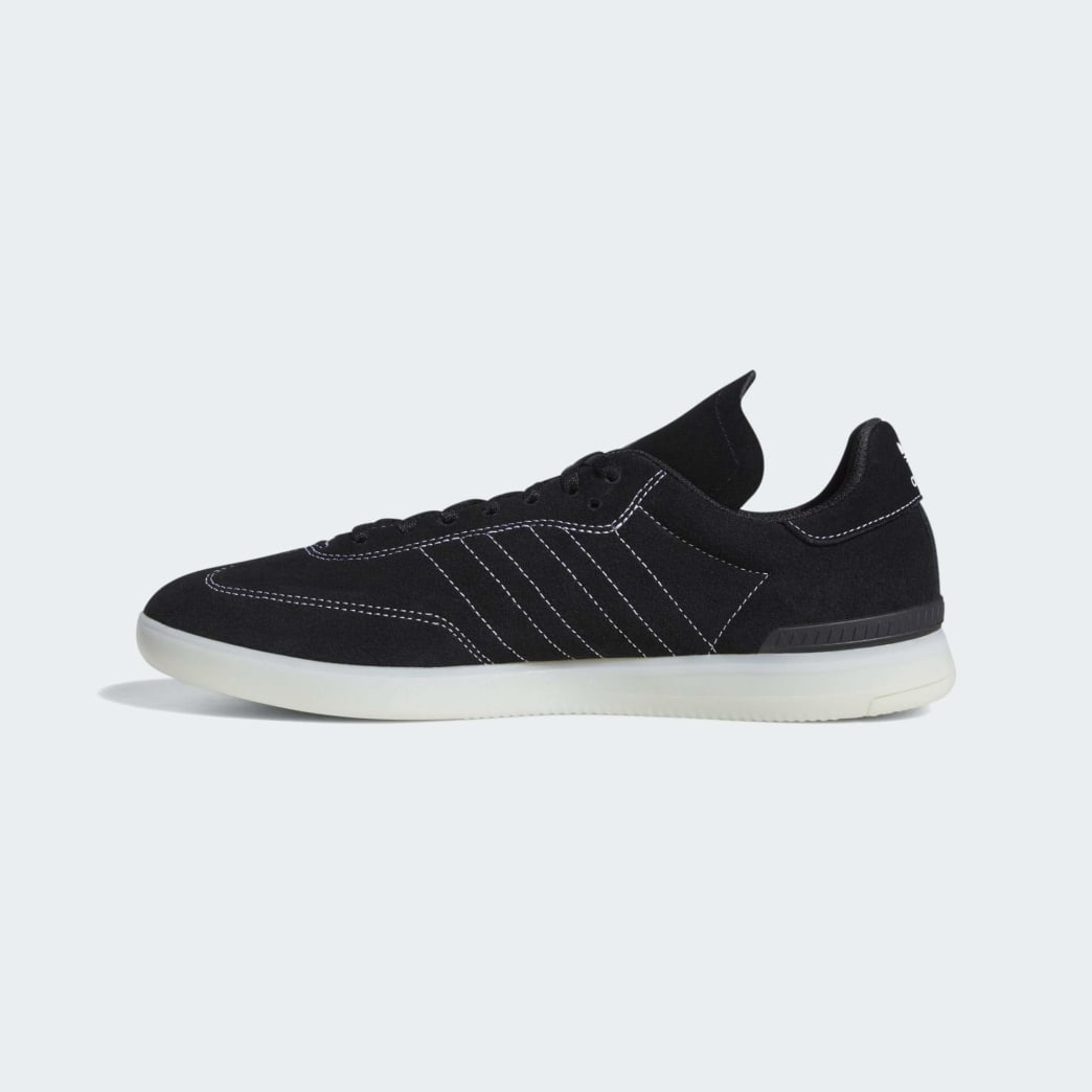 Adidas Samba ADV Shoes - Core Black/Cloud White/Crystal White | Shoes by adidas Skateboarding 6