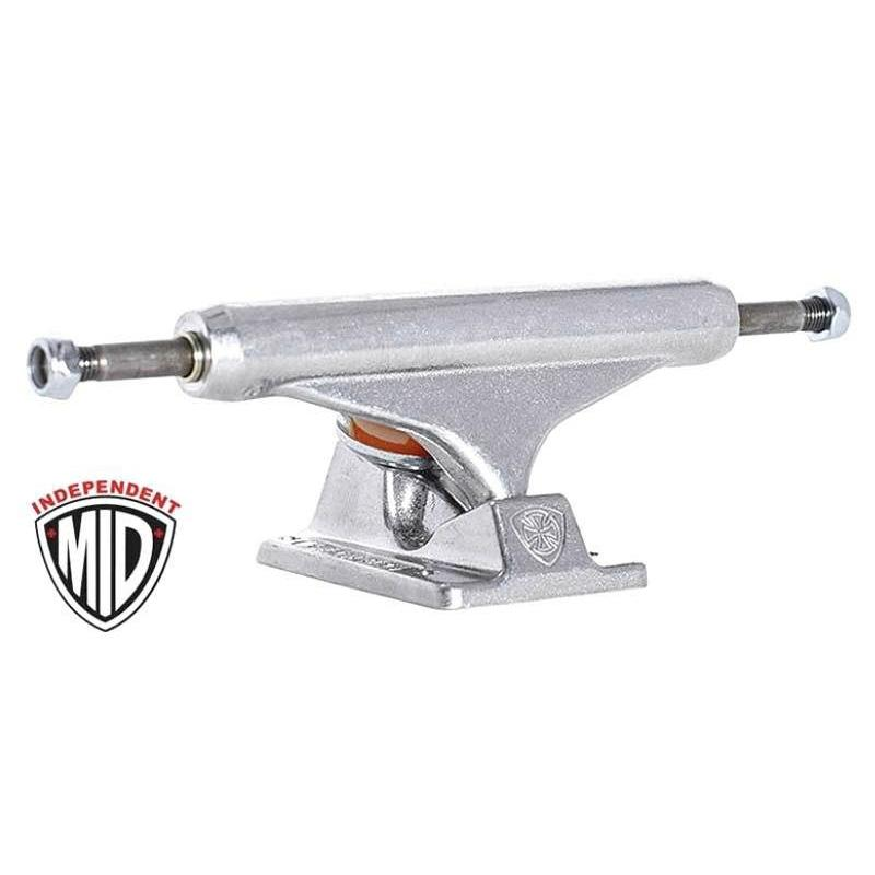 Independent Mid Truck - polished silver set (144) | Deck by Independent Trucks 1