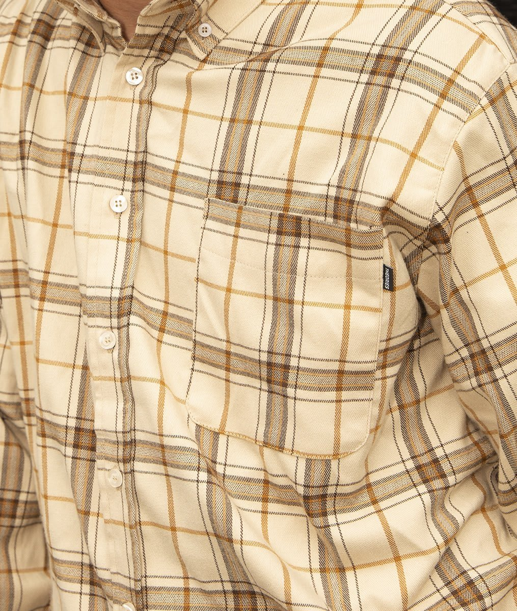 TOA - Tartan Flannel Button Down   Shirt by Theories of Atlantis 2