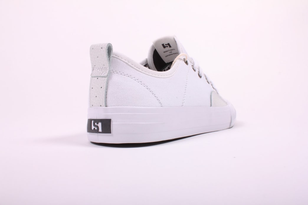 State Harlem White/White Canvas Suede | Shoes by State Footwear 3