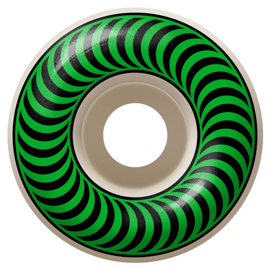 Spitfire Wheels Classic 52mm Green | Wheels by Spitfire Wheels 1