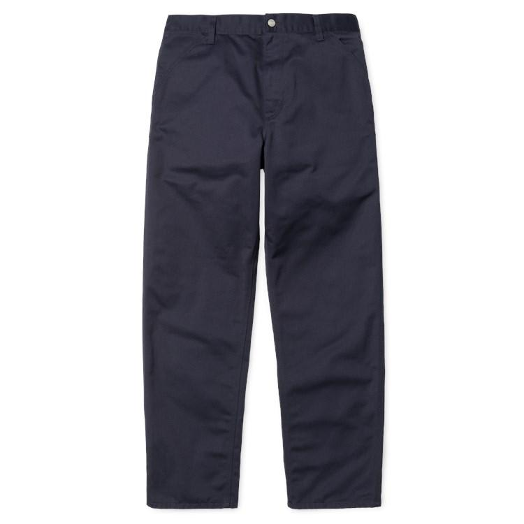 Carhartt WIP Simple Pant - Dark Navy Rinsed | Trousers by Carhartt 2