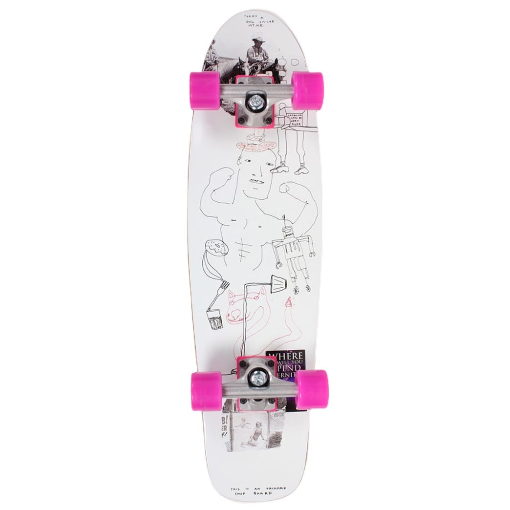 Orchard Sageman Smiling Dog Mini Cruiser Complete 7.8 X 29 | Complete Skateboard by Orchard 1