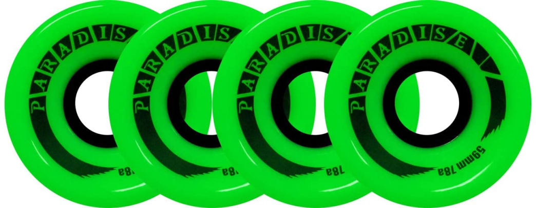 Paradise Skateboard Cruiser Wheels 59mm 78A | Wheels by Paradise.NYC 1